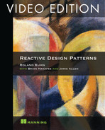 Cover of Reactive Design Patterns Video Edition