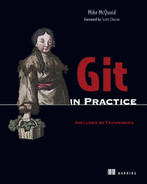 Cover of Git in Practice