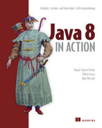 Cover of Java 8 in Action: Lambdas, streams, and functional-style programming