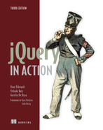 Cover of jQuery in Action, Third Edition