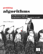 Cover of Grokking Algorithms: An illustrated guide for programmers and other curious people