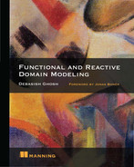 Cover of Functional and Reactive Domain Modeling