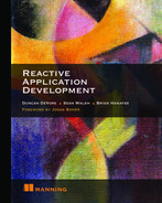 Cover of Reactive Application Development