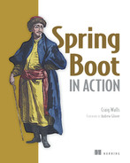 Cover of Spring Boot in Action