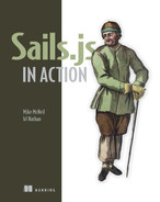 Cover of Sails.js in Action