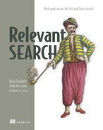 Cover of Relevant Search: With applications for Solr and Elasticsearch