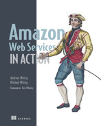 Cover of Amazon Web Services in Action