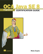 Cover of OCA Java SE 8 Programmer I Certification Guide