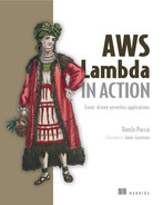 Cover of AWS Lambda in Action: Event-driven serverless applications