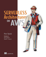 Cover of Serverless Architectures on AWS: With examples using AWS Lambda