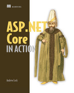 Cover of ASP.NET Core in Action