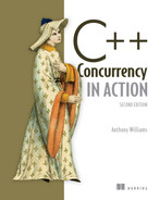 Cover of C++ Concurrency in Action, Second Edition