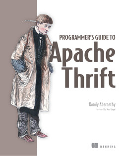 Programmer's Guide to Apache Thrift