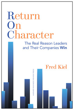 Return on Character: The Real Reason Leaders and Their Companies Win