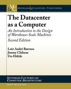 Cover of The Datacenter as a Computer, 2nd Edition