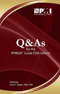 Cover of Q & As for the PMBOK® Guide, 5th Edition