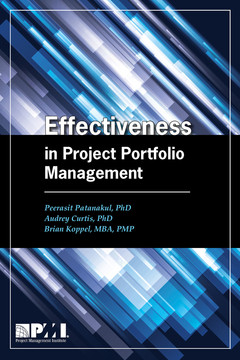 Effectiveness in Project Portfolio Management