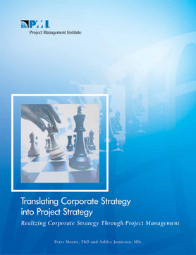 Translating Corporate Strategy into Project Strategy