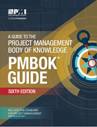 Cover of A Guide to the Project Management Body of Knowledge ( PMBOK® Guide )—Sixth Edition (ENGLISH)