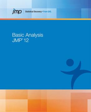 JMP 12 Basic Analysis