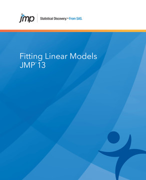 JMP 13 Fitting Linear Models