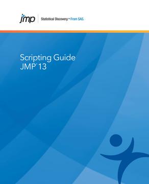 JMP 13 Scripting Guide
