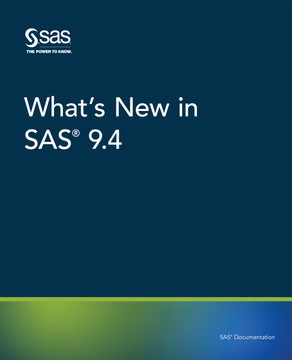 What's New in SAS 9.4