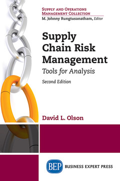 Supply Chain Risk Management, Second Edition