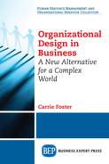 Cover of Organizational Design in Business