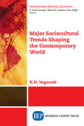 Cover of Major Sociocultural Trends Shaping the Contemporary World