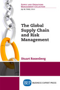 Cover of The Global Supply Chain and Risk Management