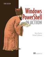 Cover of Windows PowerShell in Action, Third Edition
