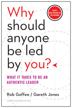 Why Should Anyone Be Led By You? NEW PREFACE