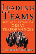 Cover of Leading Teams: Setting the Stage for Great Performances