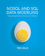 Cover of NoSQL and SQL Data Modeling: Bringing Together Data, Semantics, and Software