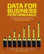 Cover of Data for Business Performance: The Goal-Question-Metric (GQM) Model to Transform Business Data into an Enterprise Asset