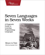 Cover of Seven Languages in Seven Weeks