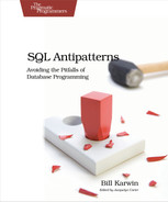 Cover of SQL Antipatterns