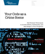 Cover of Your Code as a Crime Scene
