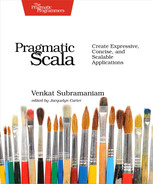 Cover of Pragmatic Scala