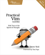 Cover of Practical Vim, 2nd Edition