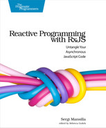 Cover of Reactive Programming with RxJS