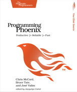 Cover of Programming Phoenix