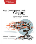 Cover of Web Development with Clojure, 2nd Edition