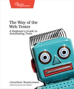 Cover of The Way of the Web Tester