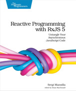 Cover of Reactive Programming with RxJS 5