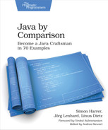Cover of Java By Comparison