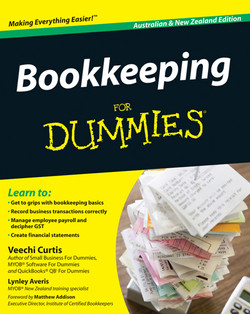 Bookkeeping For Dummies, Australian and New Zealand Edition