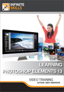 Book cover for Learning Photoshop Elements 13