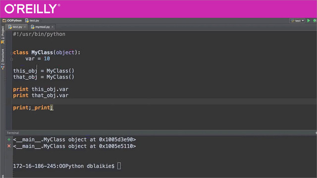 Python Beyond The Basics - Object Oriented Programming